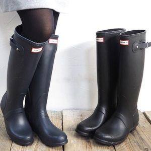 HUNTER BLACK CLASSIC WOMAN'S BOOT